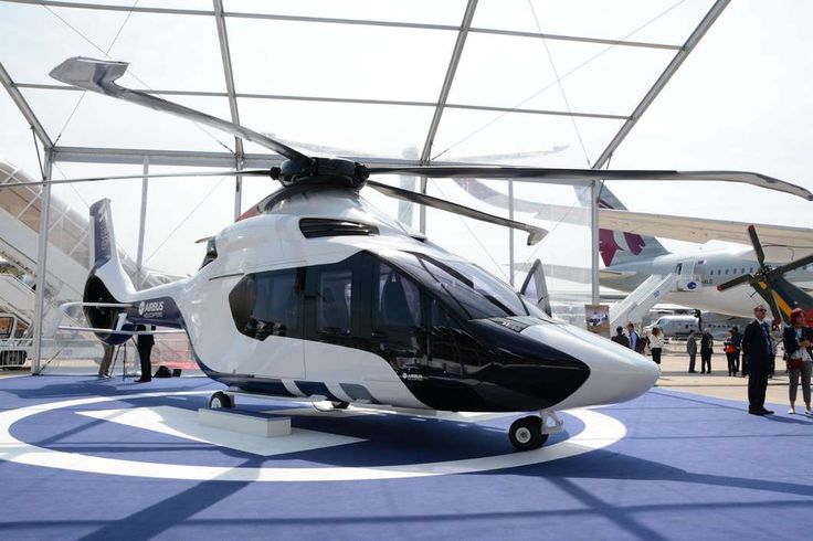 Airbus H160 helicopter makes its first flight with Blue Edge Blades.