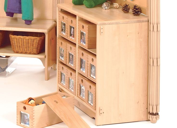 Community Playthings | My box - Lovely idea for the baby room...