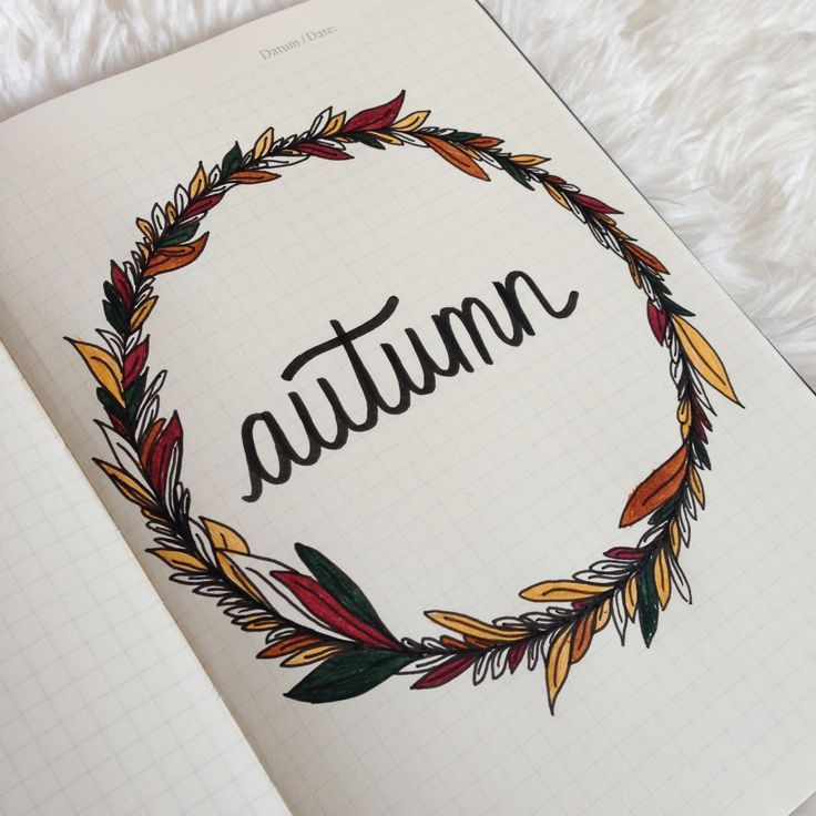 i drew this autumnal cover page to accompany the new post that is up on my blog. check it out here!
