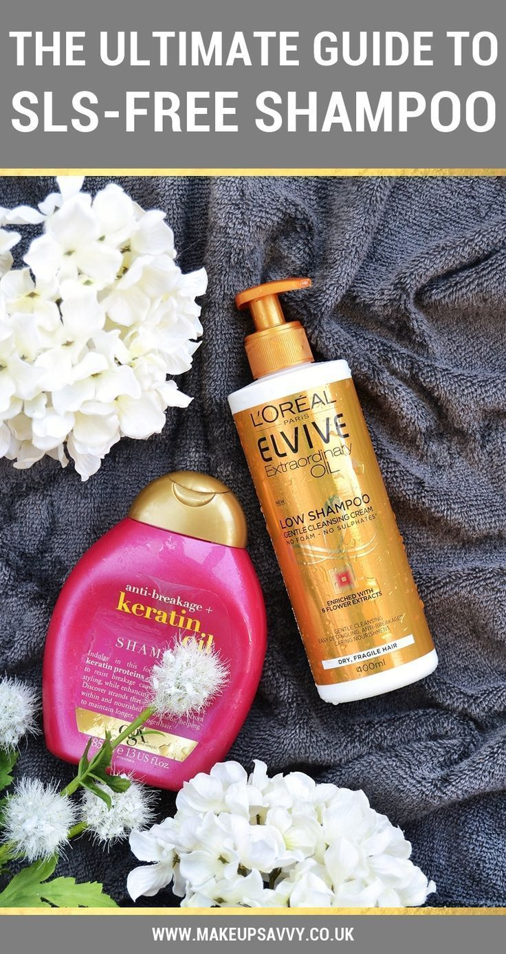 A complete guide to going sls-free plus sls-free shampoo reviews and tons of product suggestions. All bases covered here!