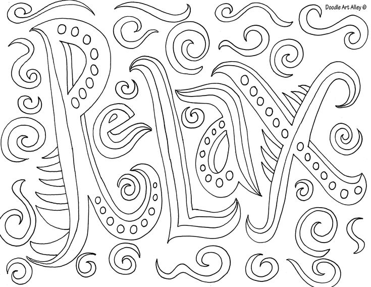 Httpwwwdoodle art alleycom Colouring Pages Pinterest