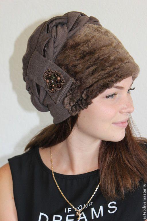 """Купить """" Клеопатра"""" Меховая шапка - меховая шапка, теплая шапка, норковая шапка"""