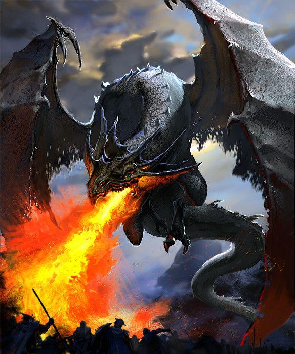 dragon, Anton Kokarev on ArtStation at https://www.artstation.com/artwork/Y2nXd