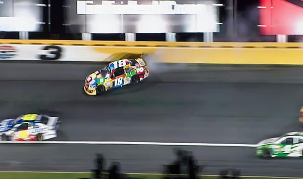 Kyle Busch Wreck At The All Star Race 1