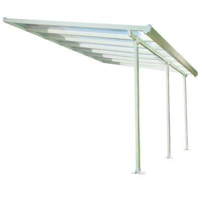 Elegant Aluminum And Polycarbonate Patio Cover 701692 At