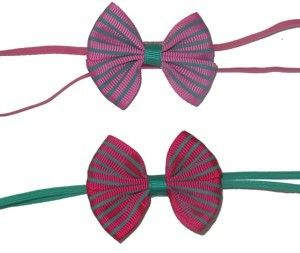 BigBow Stripe Headband R30 www.babyheadbands.co.za www.mybabyheadbands.com