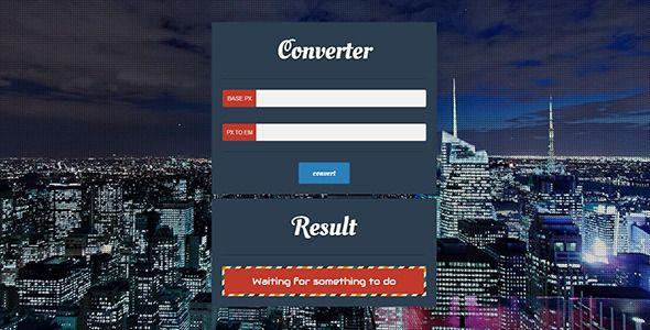Flat EM Converter