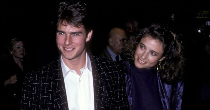 """He Was Married to Her? Looking Back at Major Movie Stars' First Spouses - Tom Cruise and Mimi Rodgers - Before high-profile marriages to Nicole Kidman and Katie Holmes, Cruise said """"I do"""" to actress Mimi Rogers. The couple wed in May 1987 — just as Cruise's star was booming — but their relationship ended in February 1990. Rogers, nearly six years Cruise's senior, reportedly introduced the Top Gun star to the Church of Scientology, of which Cruise has been a major part of for decades."""