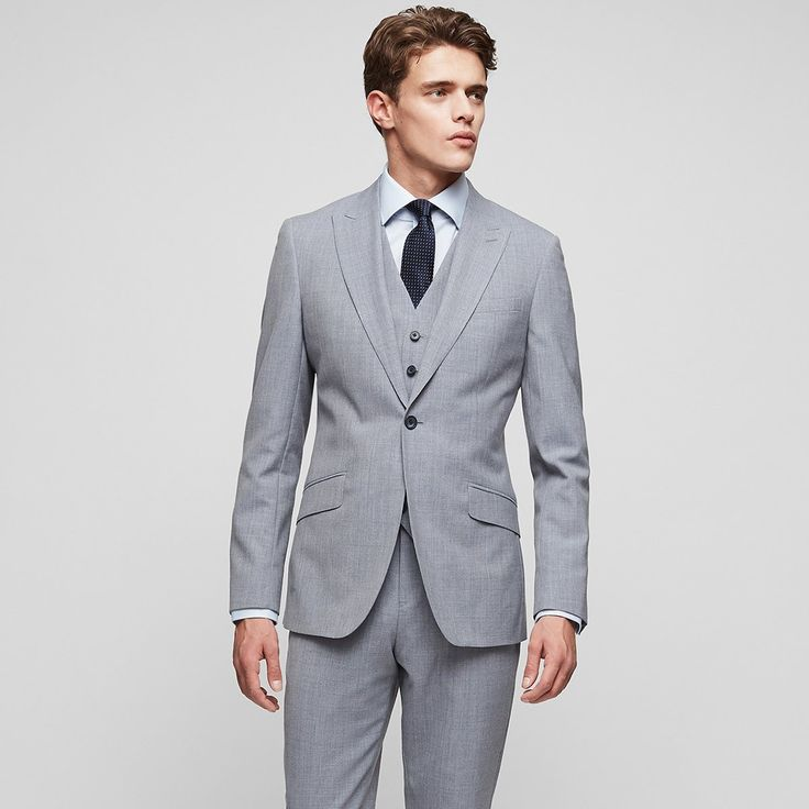 Rover B  Modern Fit Wool Blazer - REISS : The rover b modern fit wool blazer in  plays its part in our iconic blazers collection and is available to buy online at REISS.