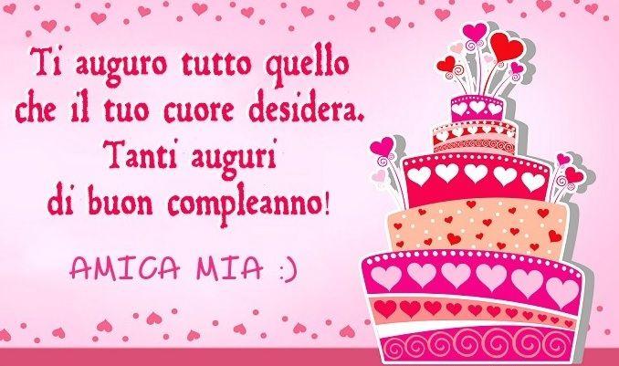 Auguri Di Buon Compleanno Amica Speciale Buon Compleanno Auguri Di Buon Compleanno Buon Compleanno Amico