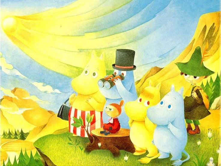 the magic of the Moomin Valley--I believe it was Finnish