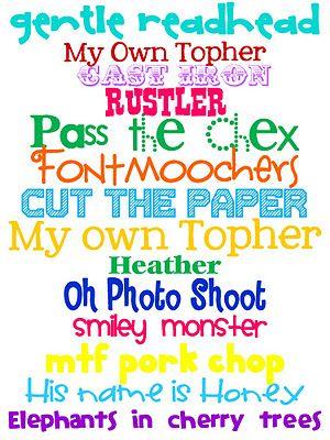fonts: Printables Fonts Organization, Technology Rocks, Printable Fonts, Crafts Fonts, Free Fonts, Font Questions, Install Fonts, Fun Fonts