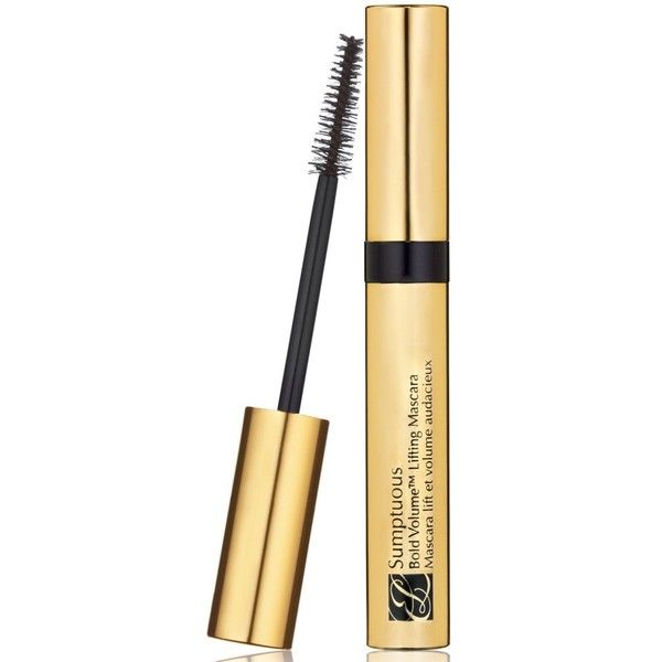 Estee Lauder Sumptuous Bold Volume Lifting Mascara (90 PEN) ❤ liked on Polyvore featuring beauty products, makeup, eye makeup, mascara, black, thickening mascara, estee lauder mascara, estée lauder and estee lauder eye makeup