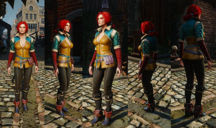 Image result for the witcher triss costume