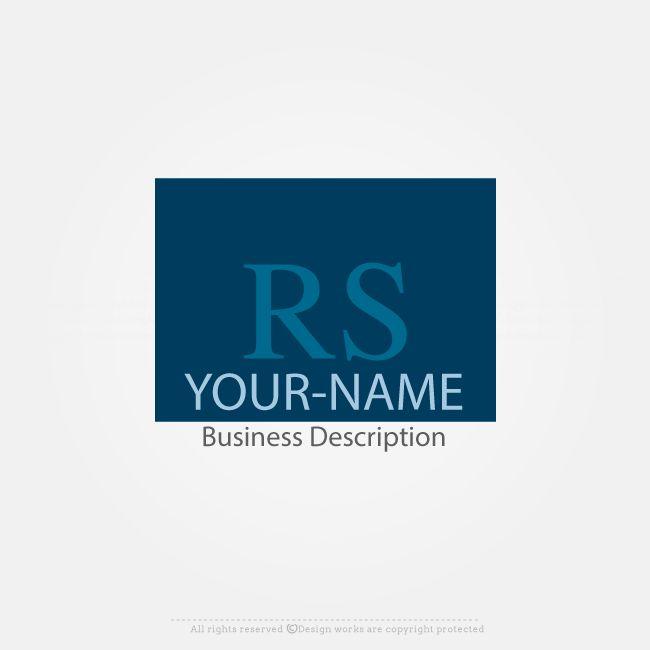 LogoMaker – Create Logo Online – Initials Logo Design