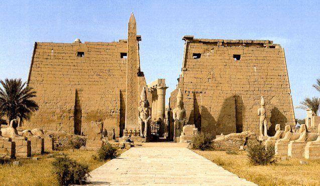arquitectura egipcia templos