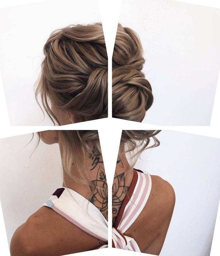 Berühmte Frisuren | Verschiedene Frisuren für Frauen mit langen Haaren | Formale Brötchen Für Mittleres Haar