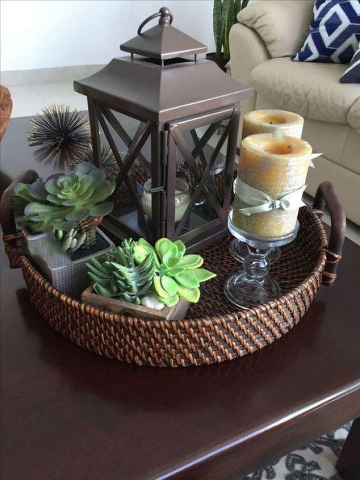 37 moderne Couchtische Dekor-Ideen, die Sie behalten möchten