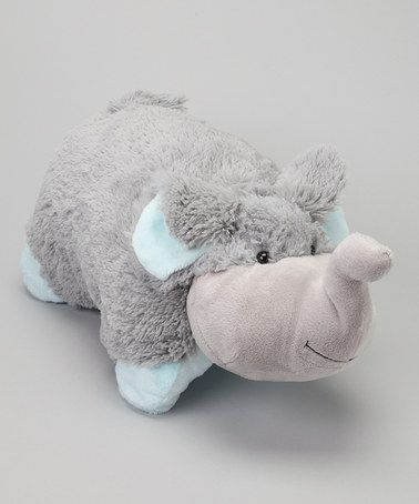 Take a look at this Nutty Elephant Pillow Pet by Pillow Pets on #zulily today!10