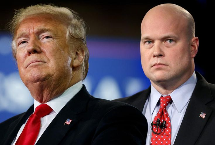 Acting Attorney General Matthew Whitaker grovels before President Trump at first Cabinet meeting – Susan Harris