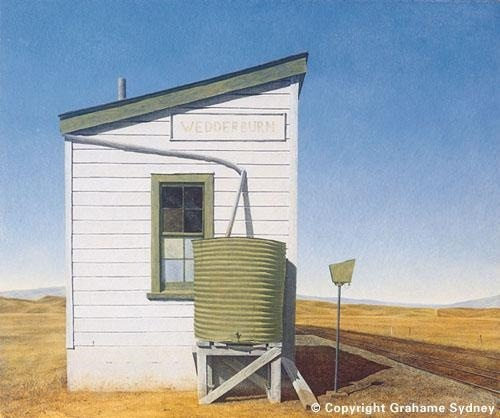Grahame Sydney -Painter - South Island