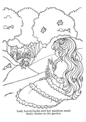 45 best lady lovely locks images on pinterest lady for Lady lovely locks coloring pages