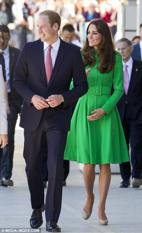 William and Kate arrived to a reception at Parliament House held in their honour, which was attended by 600 people. April 24, 2014