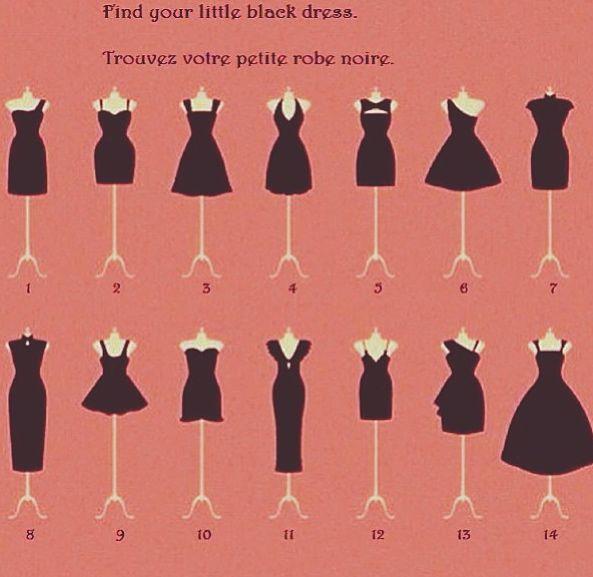 Dress style descriptions
