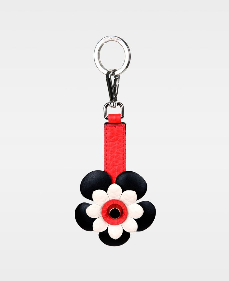 DECADENT Flower key-ring - Red