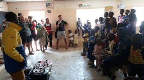 [Démarches responsables] Un élève de l'ENSCBP en mission humanitaire au Sénégal