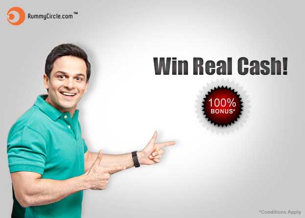Play indian rummy 13 cards game online at RummyCircle