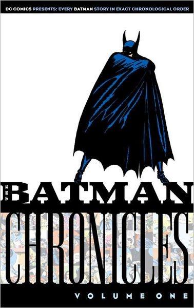 Batman Chronicles, Volume 1, the original Batman comics - $8.32