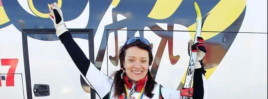 Cross country-skiing with Marie Söderqvist #vasaloppet