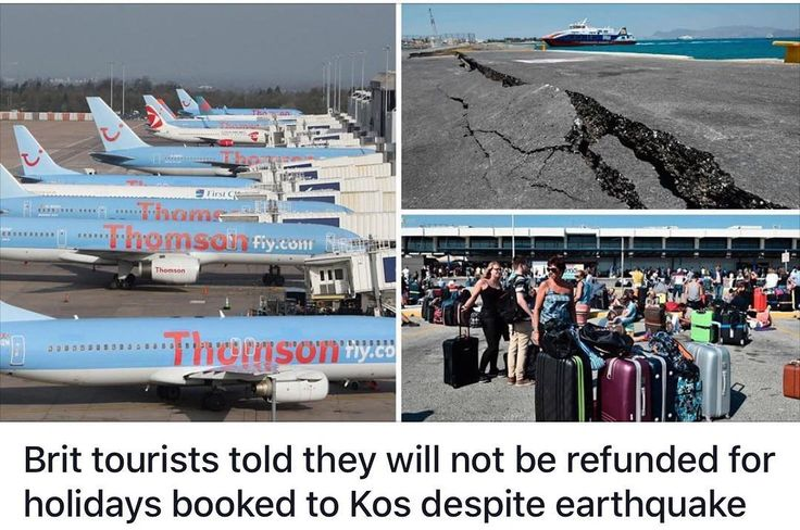 Story of the Year: British tourists have been informed that they will not be getting a refund for holidays booked to Kos after the island was caught up in a powerful earthquake. . .  #travel #traveller #travels #travelgram #wanderlust #instatravel #traveling #travelling #travelphotography #nature #traveler #igtravel #mytravelgram #explore #travelingram #photography #instagood #beautiful #adventure #ramadan #nofilter #love #instagram #quotes #trump #usa #quotestoliveby #flotus #hotel #potus