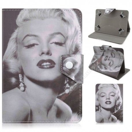 Funda para tablet de 10 pulgadas diseño Marilyn Monroe