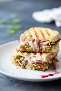 Loaded Turkey Panini for all your Thanksgiving leftovers