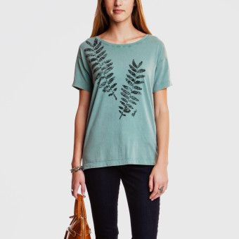 Roots - Foliage Tee  Pretty sure you need to own this shirt @Emily
