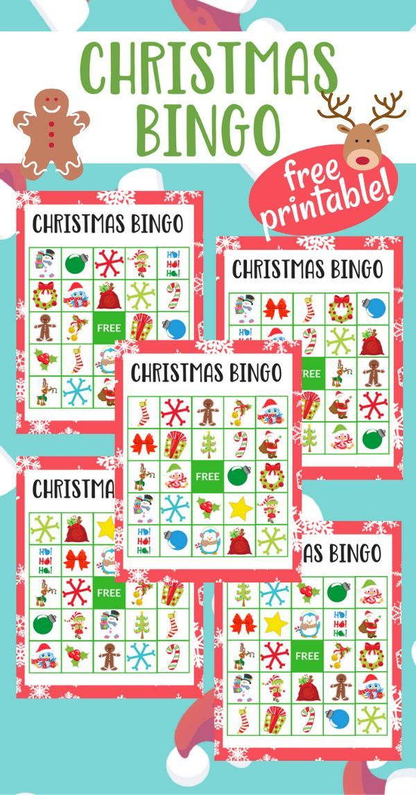 Enjoy the Holidays and special time with your family while playing this super simple, fun, [and free] Printable Christmas Bingo game! #AD #GoldfishMoments
