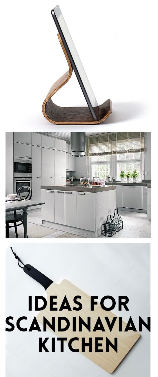 Ideas for Scandinavian style kitchen. Minimalistic and white design!