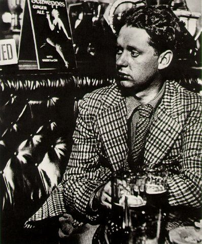 Dylan Thomas. By Bill Brandt, 1941
