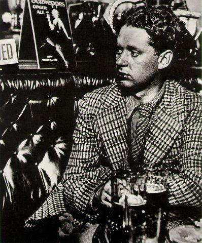 Dylan Thomas. By Bill Brandt, 1941