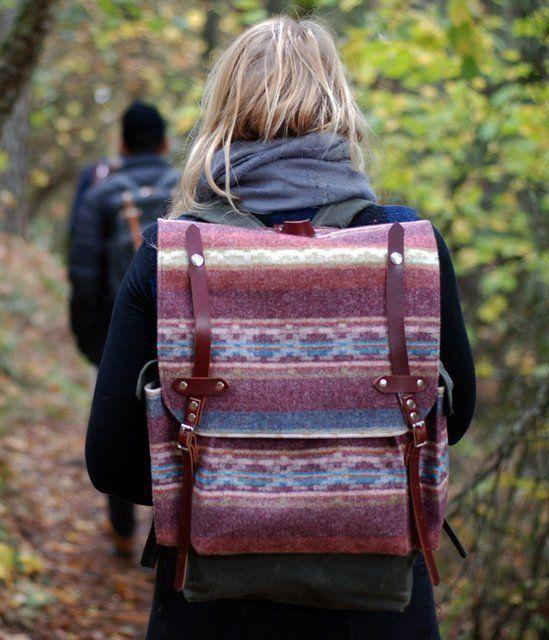 Wayfarer Wool Backpack.
