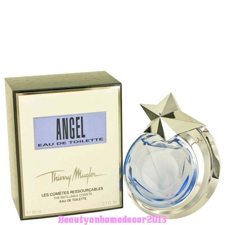 Angel Perfume by Thierry Mugler for Women 2.7oz Eau De Toilette Spray REFILLABLE #ThierryMugler