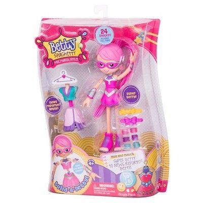 Betty Spaghetty Doll- Super Betty