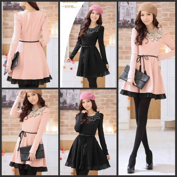 http://www.wholesale-korean-fashion.com/Korean_Version_Of_Fall_And_Winter_Selling_Long_Sleeve_Dress-ViewDetails25725.aspx
