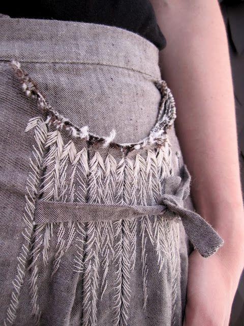pants stitchwork detail __ Umit Unal -- s/s 2012