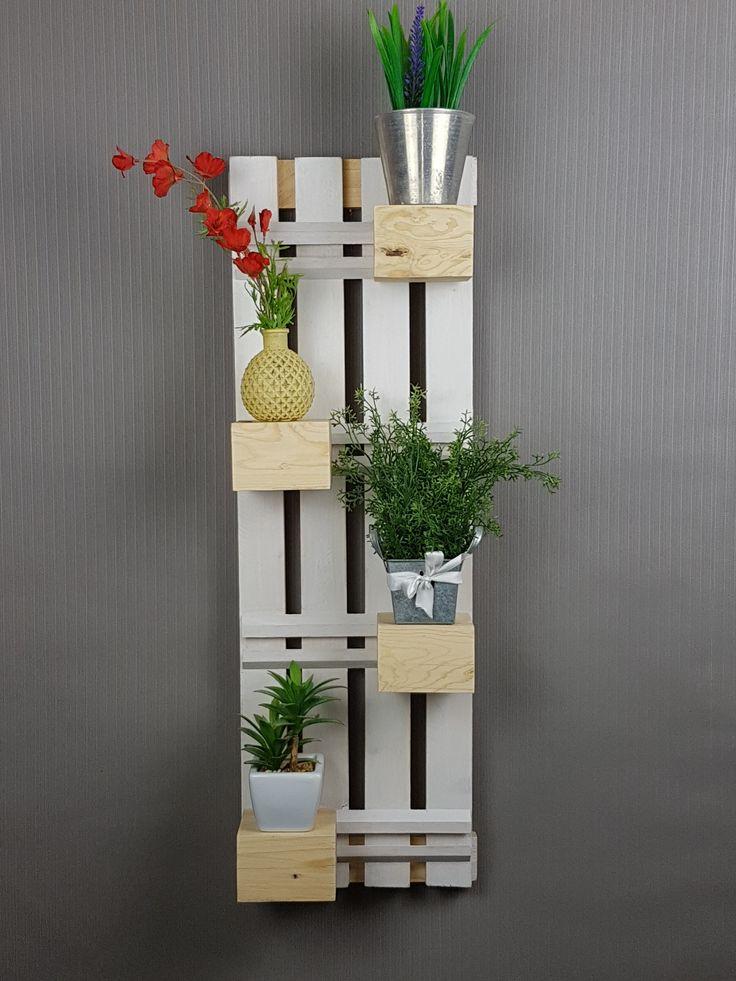 *Upcycling*  Blockregal, verschiebe die einzelenen Holzblöcke und gestalte selbst. Upcycling Küche, Esszimmer, Wohnung, Deko, Regal, weiß, Holz, upcycling, Tee, schön, dekorieren, Dekoration, selbstgemacht,Leiste,verstellbar DIY, Handmade