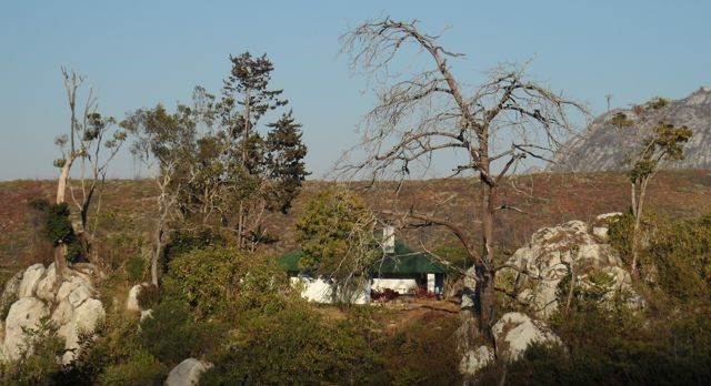 Frances #Cottage as seen from Chambe Hut. #FrancesCottage #ChambeHut #Malawi
