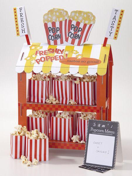 Popcorn - Hot Dog Stand bei www.party-princess.de