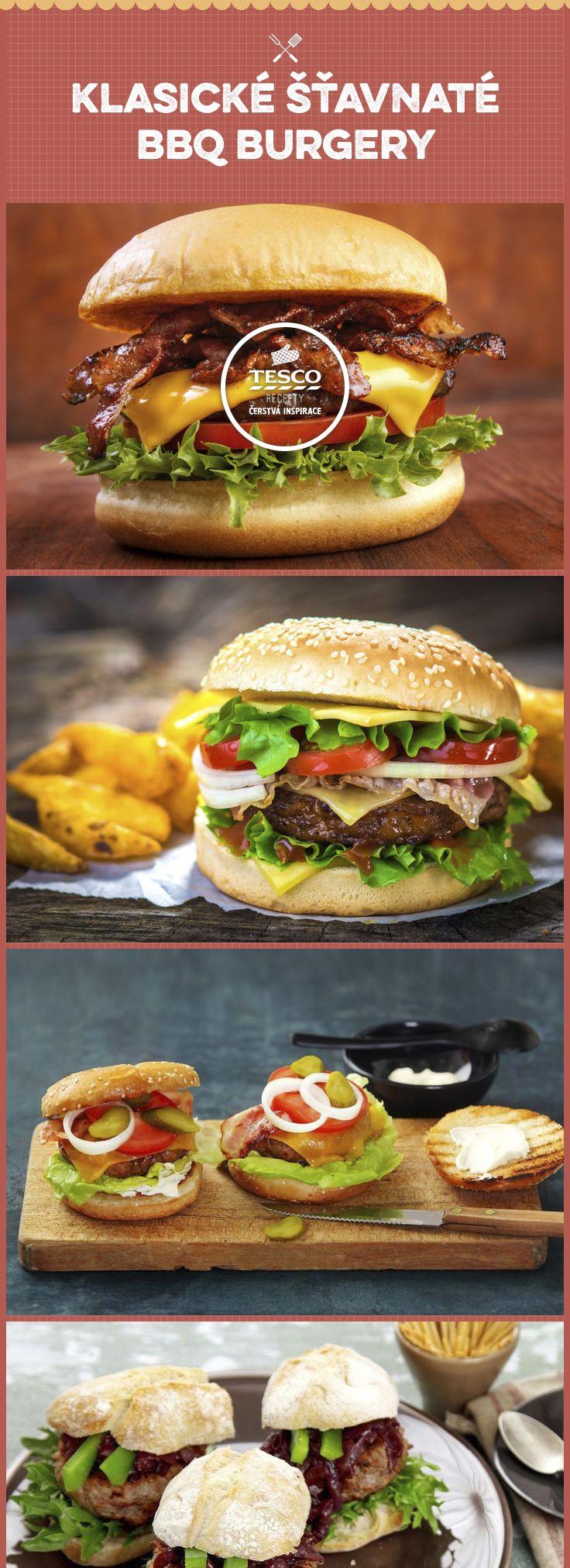 Připravte si klasický šťavnatý BBQ burger
